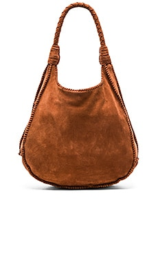 Andrew Suede Hobo in Cocoa