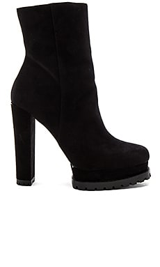 Holden PlatformSheep Fur Lined Boot in Black