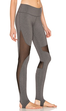 Coast Legging in Stormy Heather & Black