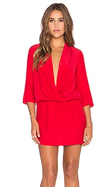 Paloma Dress in Red