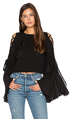 A Love Like That Top in Schwarz