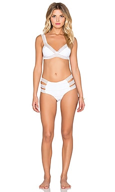 And I Drove You Crazy Bikini Set in White
