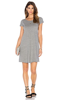 Jilpow Dress in Heather Grey