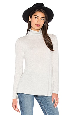 Blossom Turtleneck Sweater in Polar Melange
