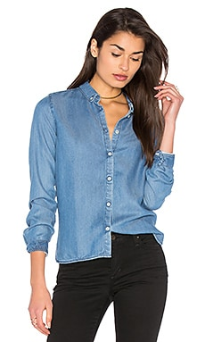 Tappa Hannock Button Up in Washed Bleu