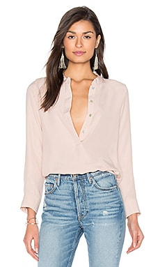 Mina Blouse in Blush Pink