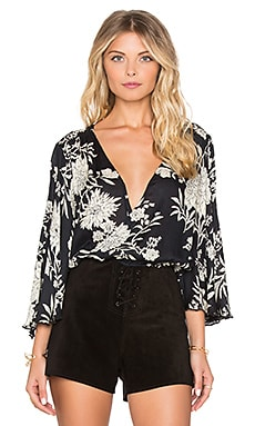 Pipa Blouse in Black Sands