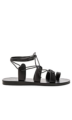 Alcyone Sandal in Black