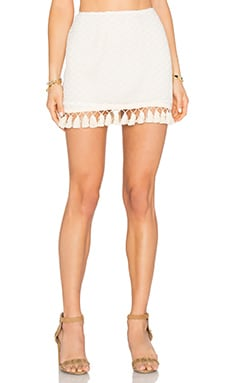 Crochet Skirt in Cream
