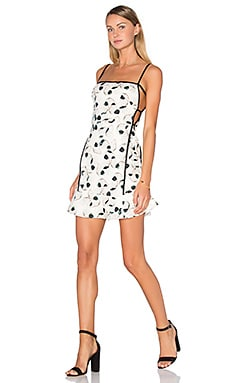 Wing Cut Out Dress in Wing Print