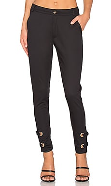 High One Eye Pant in Black