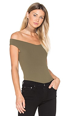 Rebel Nights Bodysuit in Khaki