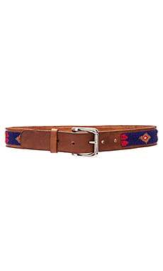 Feather Belt in Dark Navy
