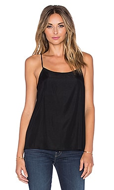Scoop Neck Cami in Black