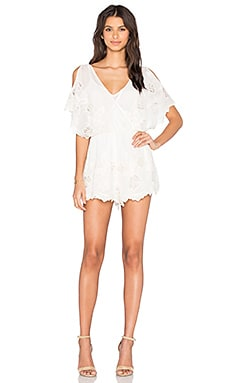 Alicia Romper in Ivory