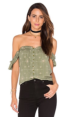 Muse Relaxed Top in Khaki