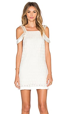 Jasmine Dress in Geo White