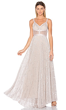Isabella Gown in Silver Blush