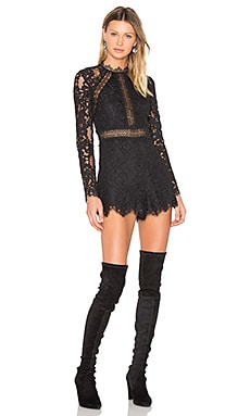 Eva Romper in Black