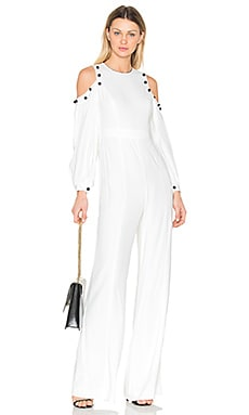 Easton Jumpsuit en Blanco