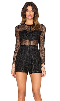 Jacob Romper in Black
