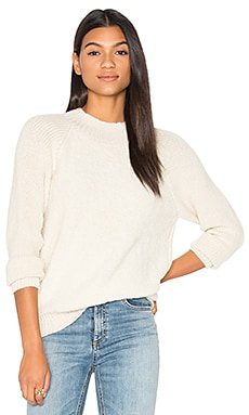 Alaya Crew Neck Sweater in Ivory