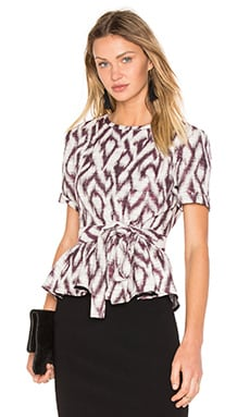 Aldo Top in Prune