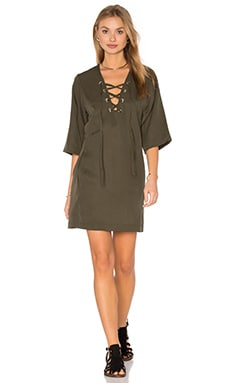 Lisette Dress in Olive