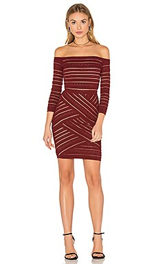 D'Arcy Sweater Dress in Garnet