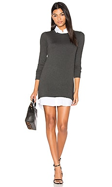Cher Sweater Dress in Anthracita