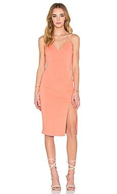 Cragside Dress in Peach