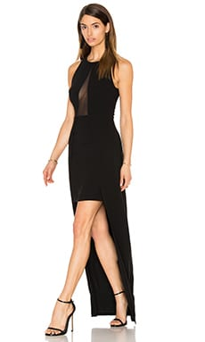 Emergent Maxi Dress in Black