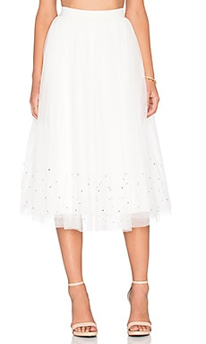 Sunday Jumps Skirt in Cream