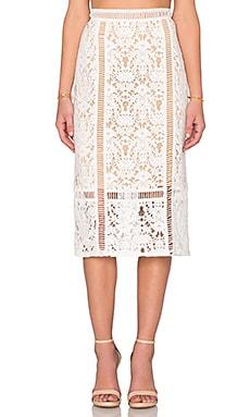 Silver Spring Skirt in Cream
