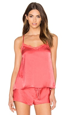 Gypsy Nights Tank in Coral
