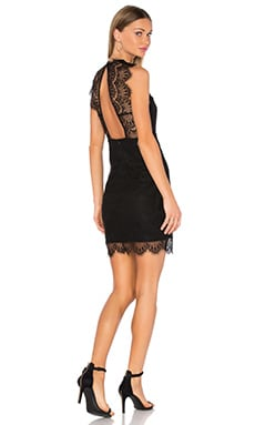 Braxton Lace Dress in Black