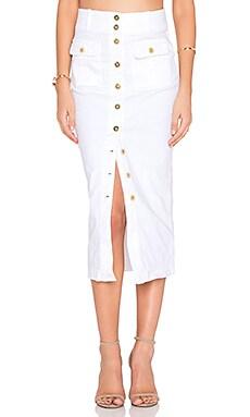 Cooper Midi Skirt in Tusk