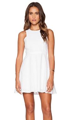 Sidra Dress in White