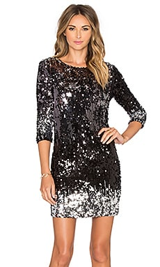 Elise Sequin Dress in Multi