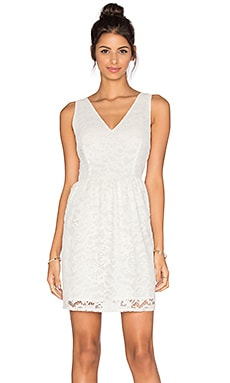 Kerry Lace Dress in Ivory