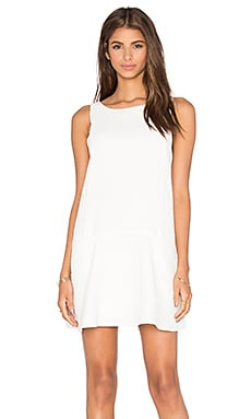 Raven Dress in Dirty White