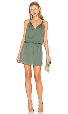 Kelving Dress in Army Green