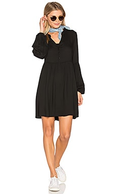 Jack By BB Dakota Jerrilyn Mini Dress in Black