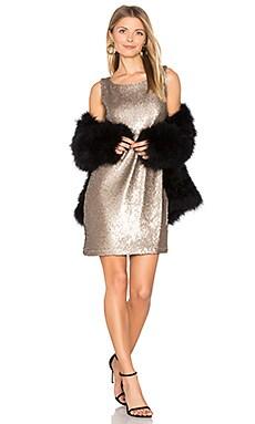 Penley Dress in Gold