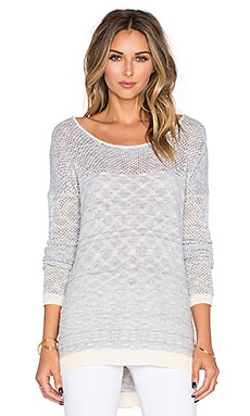 Jack by BB Dakota Oniesha Sweater in Light Heather Blue