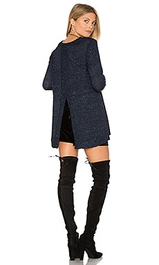 Jack By BB Dakota Warrane Sweater in Navy