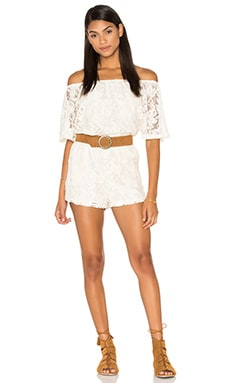Nikola Romper in Antique Ivory