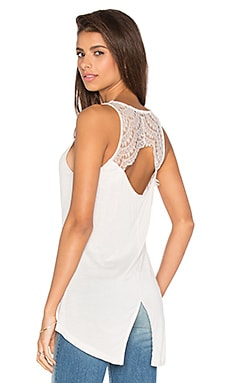 Jack by BB Dakota Leana Tank in White Sand