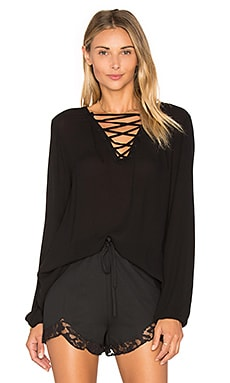 Jack By BB Dakota Eddingham Top in Black