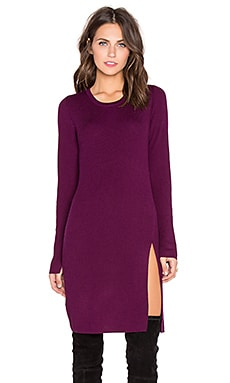 Mady's On Sweater Dress in Deep Port